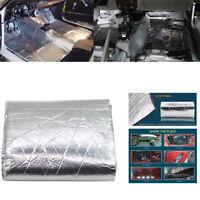 7mm 250×100cm Car Sound Deadener Heat Noise Proof Insulation Deadening Mat Hood