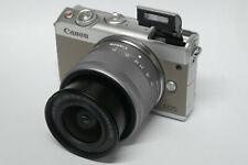Canon EOS m100 gris con ef-m 15-45 mm objetivamente B-Ware distribuidores m 100