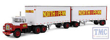 60-0287 1st Gear Mack R Model with 28 Pup Trailers North Penn Transfer