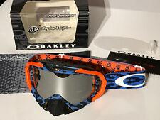 Oakley Mayhem Pro MX Goggle TLD Signature 7051-27 cheetah blue/black irid. rare