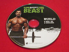 BODY BEAST - BUILD: Back + Bi's + Shoulders - New Fitness DVD *