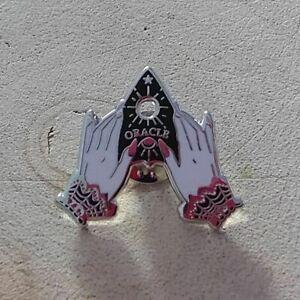 Ouija Pin Badge, Oracle Pin Badge, Fortune Teller Badge, Gothic Badge