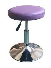 TABOURET A41P violet télescopique hauteur réglable pivotant bureau travail VIALA