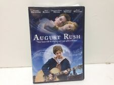 AUGUST RUSH DVD ROBIN WILLIAMS 2008 FULL AND WIDE SCREEN EUC!