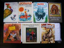 Konvolut 7 Kinderbücher, Märchen Geschichten Taps und Tine, Krawitter Krawatter
