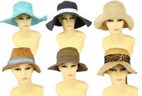 Vintage Womens Straw Hats Summer Beach Retro 70s 80s 90s Wholesale x20 -Lot675