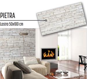 Lastra Plastonda Pannello muro decorativo interno 50x100 Rivestimento Pietra
