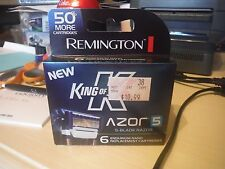 Remington King of Shaves Azor 5 Men's Shaver Replacement Cartridges 6 ct razor
