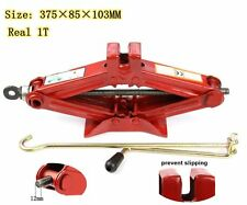 1T Scissor Jack Lift Wind Up For Car Van Emergency Speed Handle Jack Stands