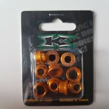 KCNC Color 7075AL Single Chainring  Bolts For Road Bikes Gold