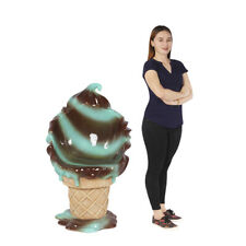Ice Cream Chair Soft Serve Mint Chocolate