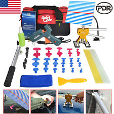 Paintless Dent Lifter Hail Removal PDR Repair Tools Glue Gun Car Body Puller Tab