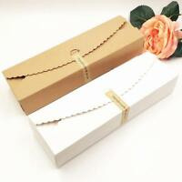 10pcs Vintage Kraft Paper Brown Candy Box Gift Wedding Party Favour_Suppl