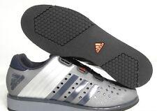 New ADIDAS Drehkraft Weightlifting Crossfit Shoes Boa Laces Grey Sz 9.5 (M19057)