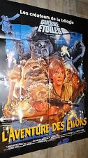 L'AVENTURE DES EWOKS affiche cinema science fiction star wars caravan of courage