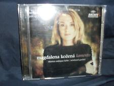 Lamento -Magdalena Kozena / Musica Antiqua Köln / Goebel