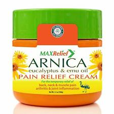 MaxRelief Arnica Montana Pain Cream - For Sufferers of Knee, Joint & Outback