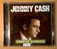 JOHNNY CASH The Greatest Country Classics (CD Neuf/mint)