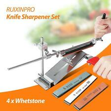 Knife Sharpener Sharpening Stone Fix-Angle Professional Kitchen System Stone New
