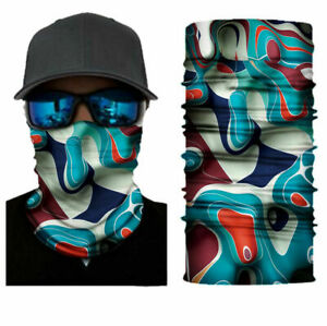 Camouflage Balaclava Face Mask Neck Gaiter Scarf Fishing Hunting Outdoor Bandana