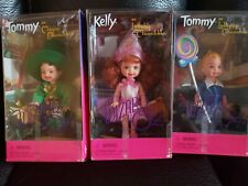 Barbie Wizard of Oz Tommy Lollipop Munchkin, Tommy Mayor and Kelly Lullaby Set