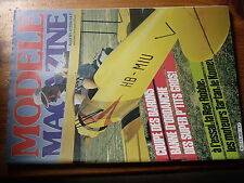 $$u Revue modele magazine RCM N°359 Coupe des Barons  Rex Robbe  moteurs Tartan