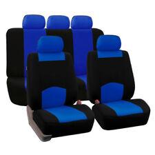 Universal 9Pcs/Set Car Seat Covers Mesh Sponge Interior Accessories Full Cover