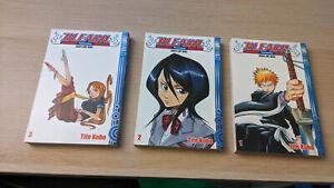 Bleach Manga Band 1-3 - Tite Kubo