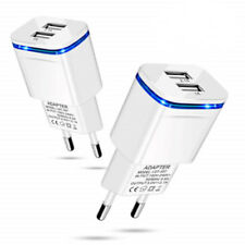 2 Ports USB Multi Adapter Travel Wall AC Charger EU Plug for Samsung & Apple Hot
