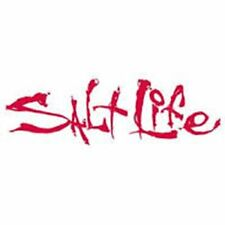 """Salt Life Signature """"RED"""" 06 inch Small Decal - UV rated vinyl *FREE SHIPPING*"""