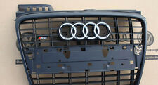 Audi A4 8E RS4 S4 V8 B7 Original front radiator grill grille sport grill Black
