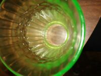 Depression Glass Cup Green