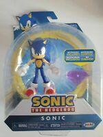 "Sonic The Hedgehog Sonic Jakks Pacific Articulated 4"" Action Figure with diamond"