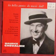 "MAURICE CHEVALIER  25 CM 10"" LES BELLES ANNEES DU MUSIC HALL 20"