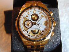 """Daniel Steiger Men's """"Modena"""" 45mm 18K Fused Gold Stainless Steel Watch L@@K!!!"""