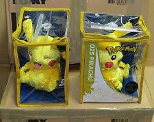Pokemon 20th Anniversary PIKACHU 2016 Crushed Velvet Soft Plush CAREFUL PACKING