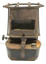 Vintage Cast Iron Kerosene Oil Portable Stove Room Space Heater+Canvas Wick