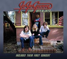 JO JO GUNNE-LIVE 1971 & 1973  CD NEW