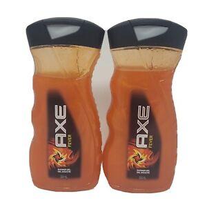 2 Pack - Axe Fever Shower Gel 354 mL each Brazilian Hot Mud + Red Dragon Fruit