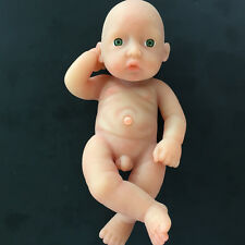 IVITA 11-inch Full Silicone Reborn Baby Boy Realistic Silicone Doll