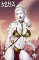 "Lady Death Gallery #1 ""Return of Lady Slave"" Nice  Ltd. Ed.. Comic Book"