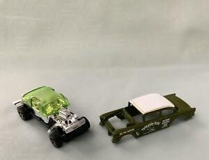2022 Hot wheels '55 Chevy Bel Air Gasser Loose Unspun!! Awesome '55 Gasser Green
