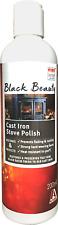 Black Beauty Cast Iron Stove Polish