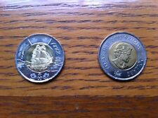"CANADA, 2012, ""TWO DOLLARS ~ WAR OF LA GUERRE DE"" $2 COIN. FRESH UN-CIRCULATED"