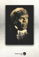 "Dr. Jekyll and Mr. Hyde - CANVAS 16""x12"" - print photo poster Fredric March"