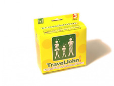 TravelJohn Portable Urinal- Wee bag: 1 Pack of 3