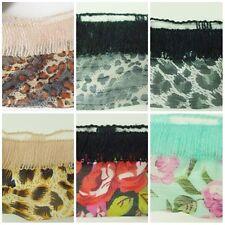 """100g """"Versailles"""" Rüschenschal Rüschenwolle  aus Wolle+Stoff Retro, 2. Wahl"""