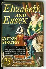 ELIZABETH AND ESSEX by Strachey, rare US Pocket #26 historical pulp vintage pb