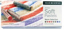 Daler Rowney Suave Tiza Pastel Set - 8 Tonos Cálidos