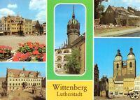 AK, Lutherstadt Wittenberg, fünf Abb., 1985